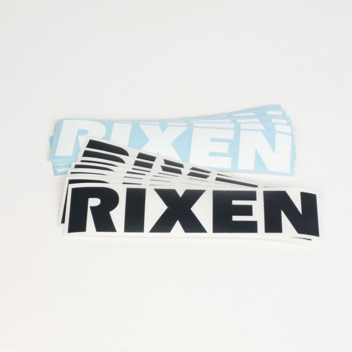 Rixen Sticker Set